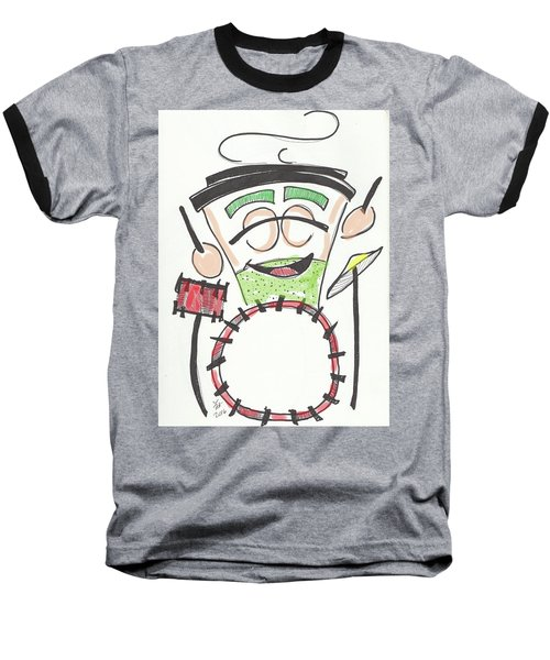 Latte Drummer Baseball T-Shirt