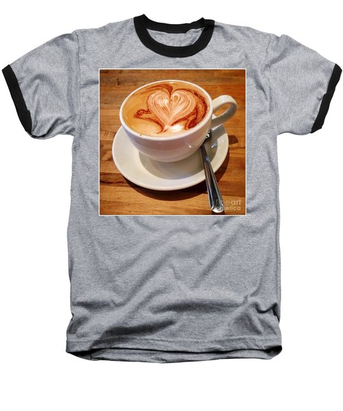Latte Love Baseball T-Shirt