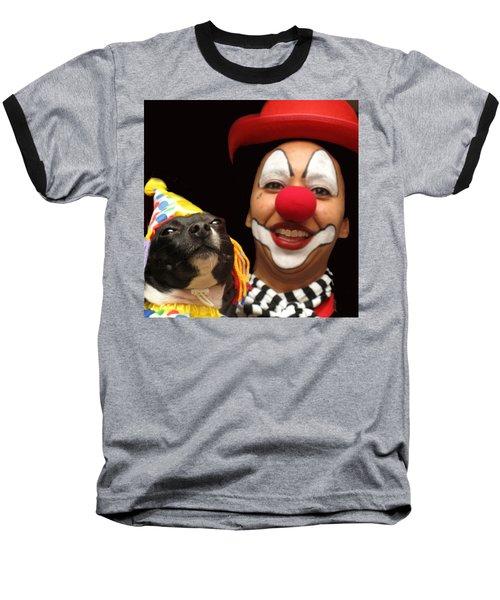 Laugh Out Loud Baseball T-Shirt by Ian  MacDonald