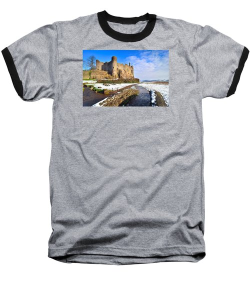 Laugharne Castle 2 Baseball T-Shirt