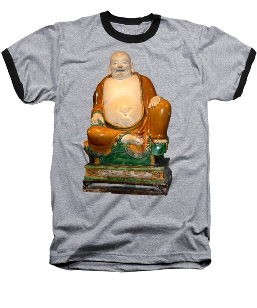 Laughing Monk Baseball T-Shirt