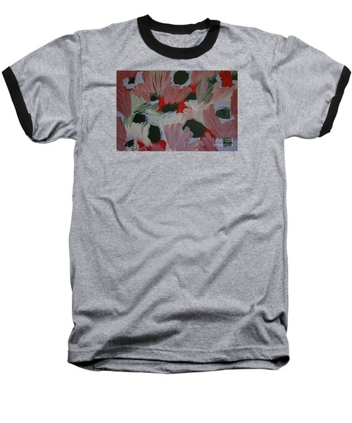 Laughter Baseball T-Shirt by Roberta Byram