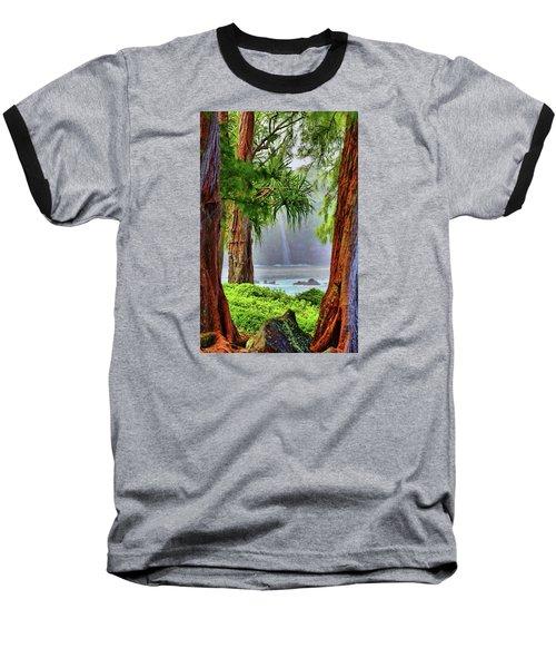Baseball T-Shirt featuring the photograph Laupahoehoe Hawaii by DJ Florek