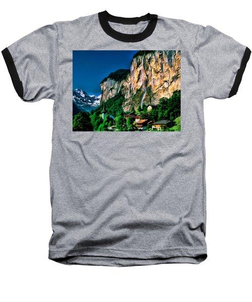Lauterbrunnen Baseball T-Shirt