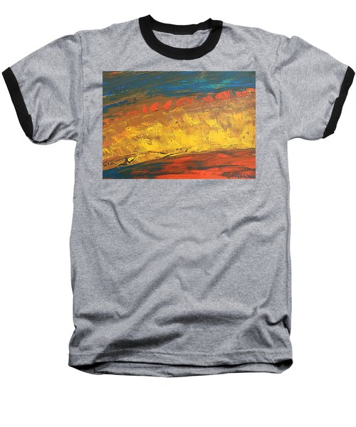 Lava Flow Baseball T-Shirt