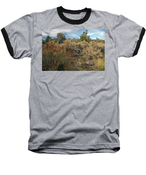 Lava Formations Baseball T-Shirt by Cindy Murphy - NightVisions