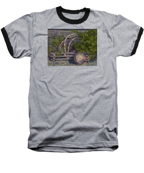Lavender And Lobster Baseball T-Shirt