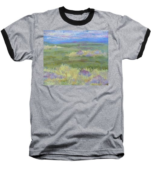Lavender And Wheat Baseball T-Shirt