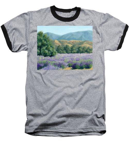 Lavender, Blue And Gold Baseball T-Shirt