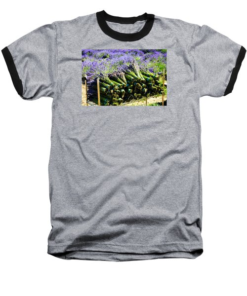 Baseball T-Shirt featuring the photograph Lavender Bounty by Tanya  Searcy