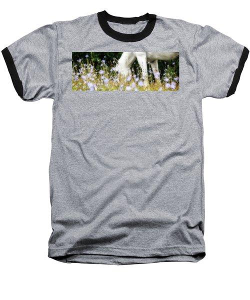 Lavender Dreams Baseball T-Shirt by Joan Davis