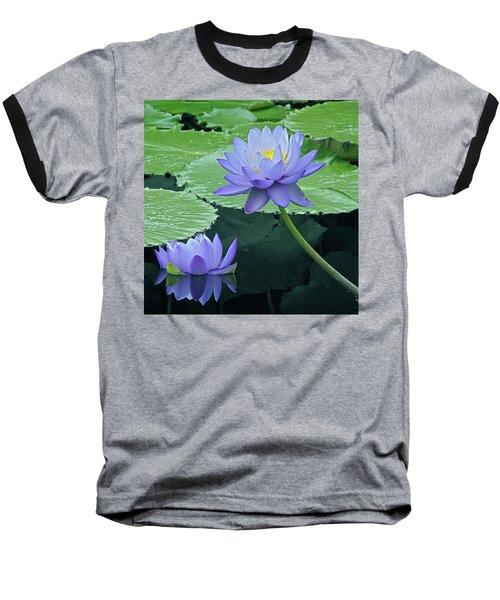 Baseball T-Shirt featuring the photograph Lavender Enchantment by Byron Varvarigos