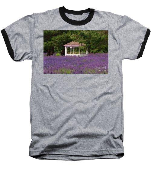 Lavender Gazebo Baseball T-Shirt