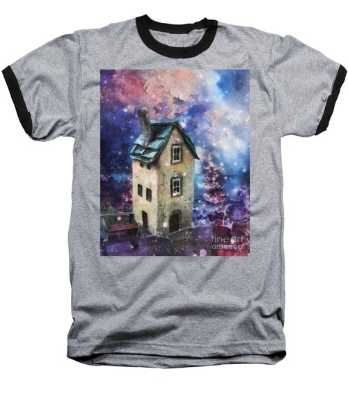 Lavender Hill Baseball T-Shirt by Mo T