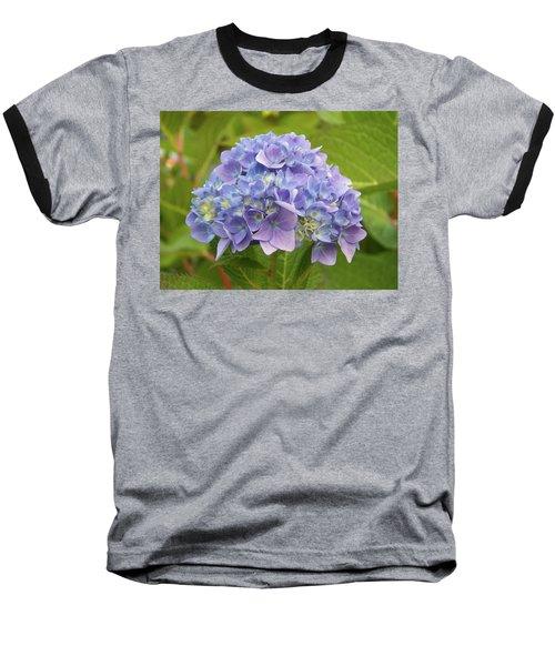 Lavender Hydrangea Baseball T-Shirt