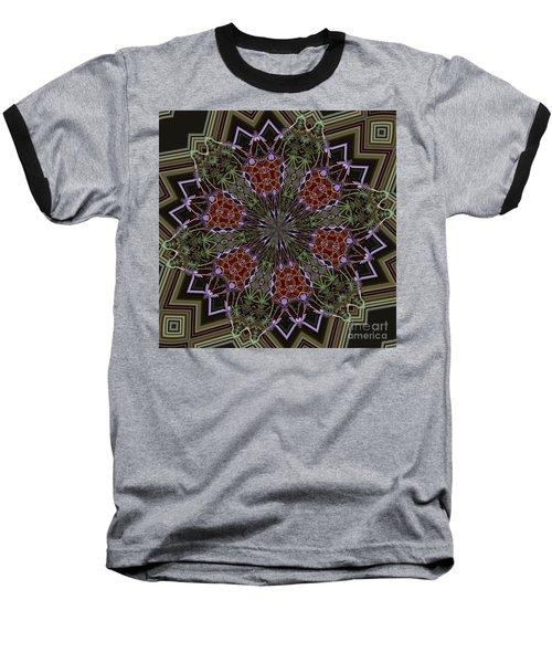 Lavender Mandala 1 Baseball T-Shirt