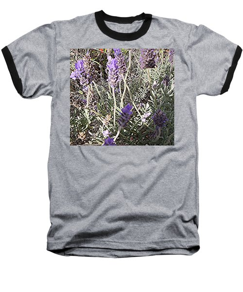 Baseball T-Shirt featuring the digital art Lavender Moment by Winsome Gunning
