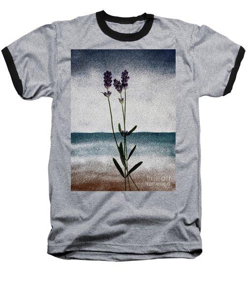 Lavender Ocean Breath Baseball T-Shirt