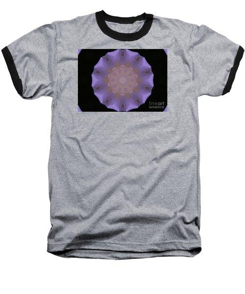 Lavender Pinwheel Baseball T-Shirt