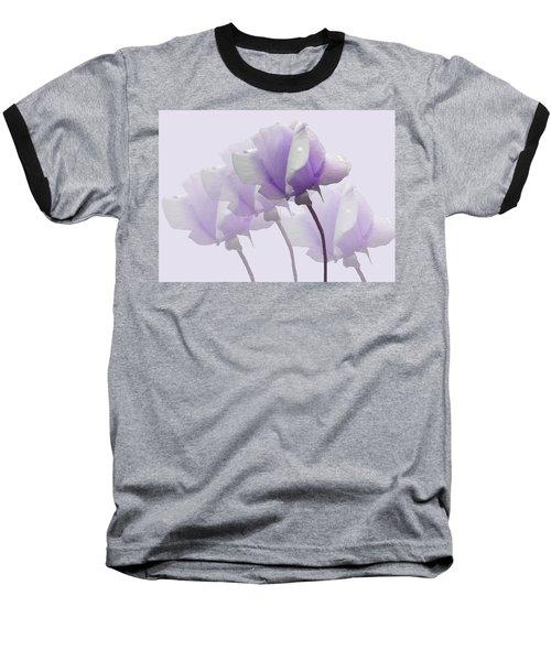 Lavender Roses  Baseball T-Shirt