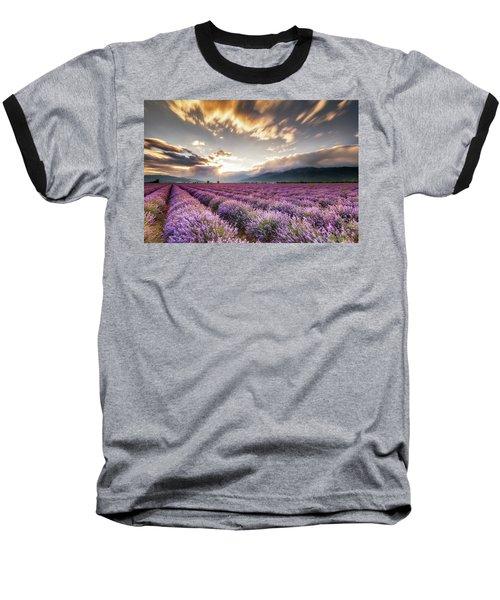 Lavender Sun Baseball T-Shirt