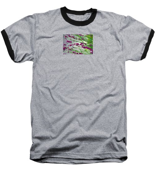 Baseball T-Shirt featuring the photograph Lavender by Susanne Van Hulst