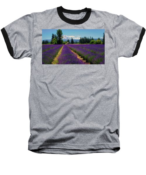 Lavender Valley Farm Baseball T-Shirt