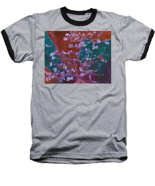 Layered 2 Van Gogh Baseball T-Shirt by David Bridburg