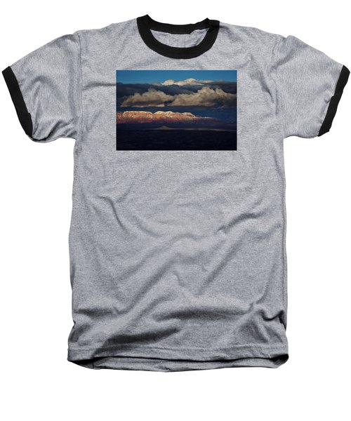Layered Light Baseball T-Shirt by Ron Chilston