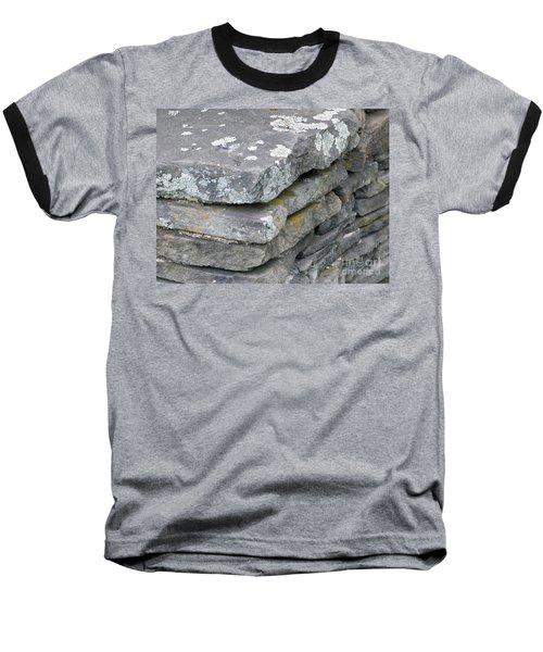 Layered Rock Wall Baseball T-Shirt