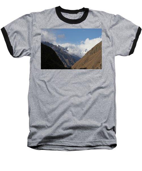 Layers Of Mountains Baseball T-Shirt