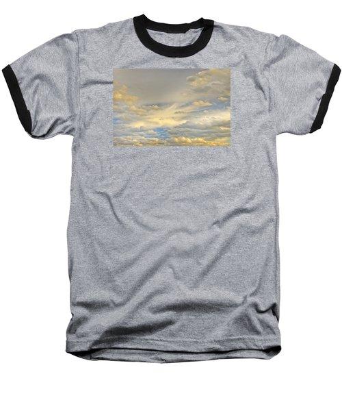 Baseball T-Shirt featuring the photograph Layers by Wanda Krack