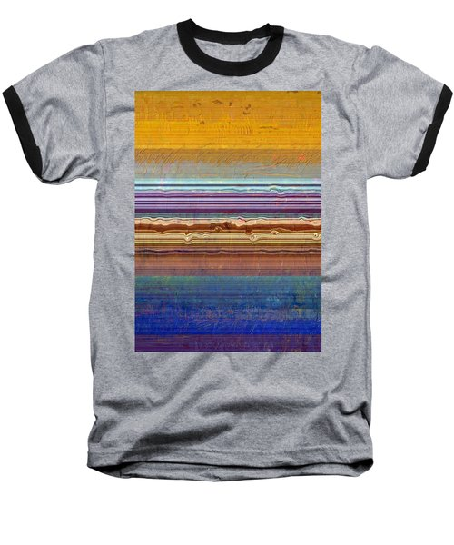 Layers With Orange And Blue Baseball T-Shirt