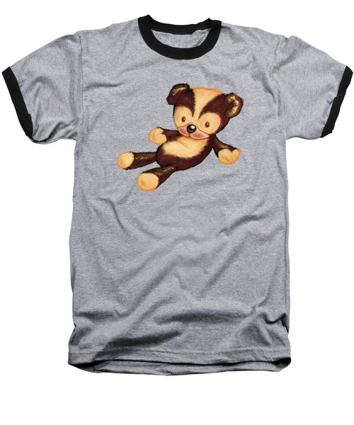 Lazy Bear Baseball T-Shirt
