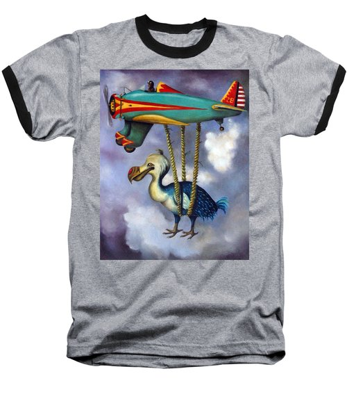 Lazy Bird Baseball T-Shirt