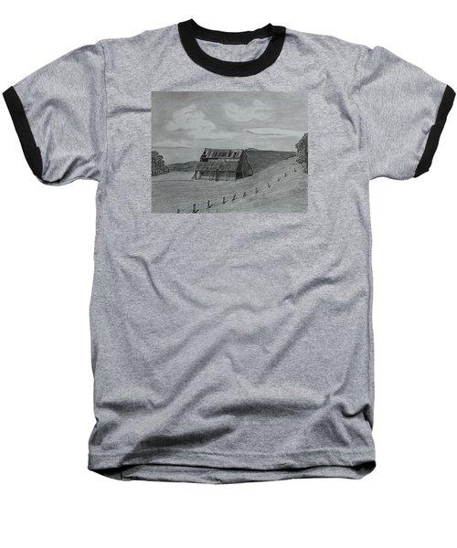 Lazy  Days  Baseball T-Shirt by Tony Clark