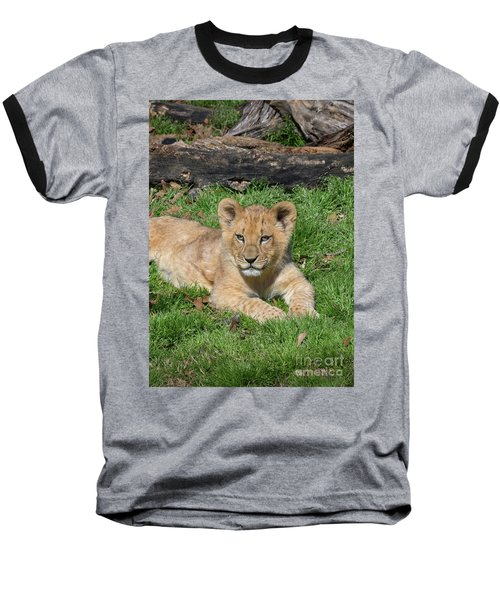 Lazy Little Leo Baseball T-Shirt
