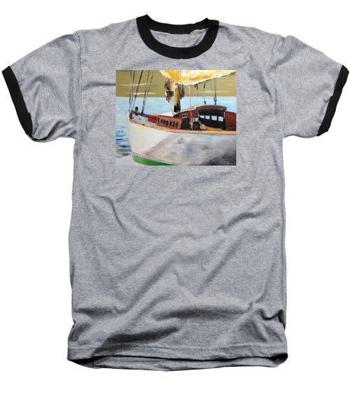 Lazy Sloop Baseball T-Shirt