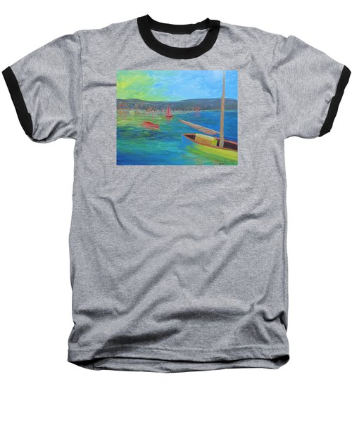 Lazy Summer Baseball T-Shirt