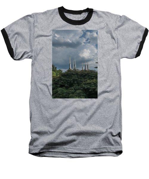 Lds Storm Clouds Baseball T-Shirt
