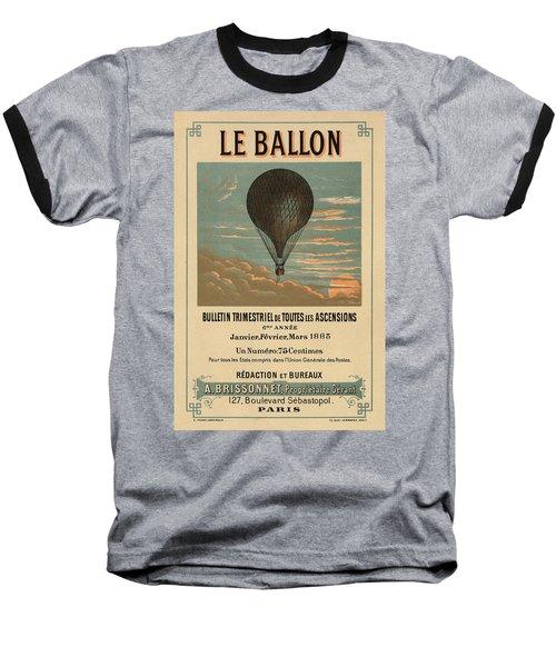 Le Balloon Journal Baseball T-Shirt