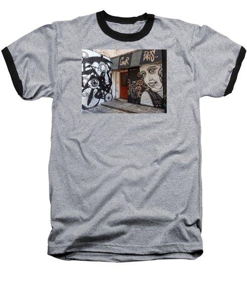 Le Coeur De Paris Baseball T-Shirt