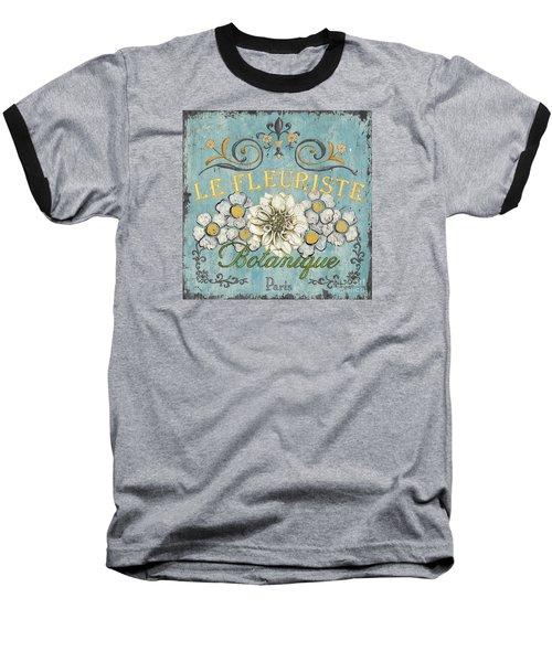 Le Fleuriste De Botanique Baseball T-Shirt