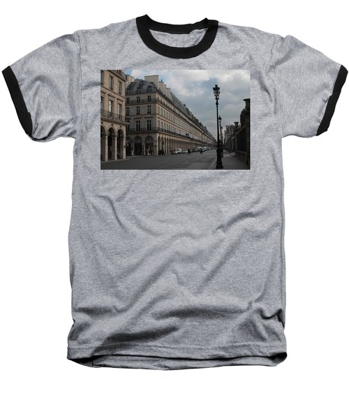 Baseball T-Shirt featuring the photograph Le Meurice Hotel, Paris by Christopher Kirby