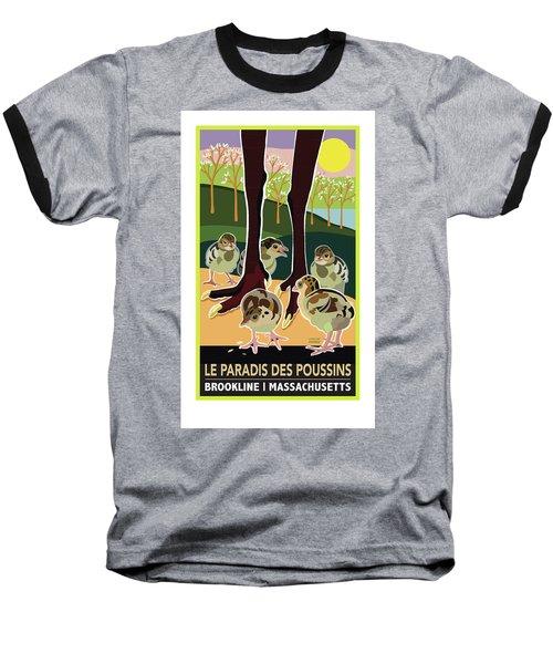 Le Paradis Des Poussins Baseball T-Shirt