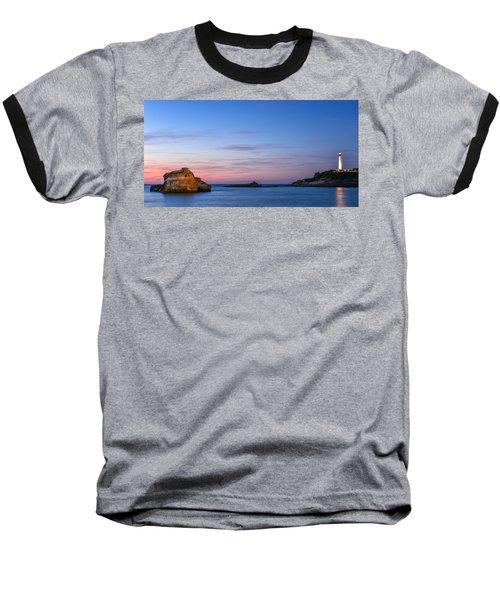 Le Phare De Biarritz Baseball T-Shirt