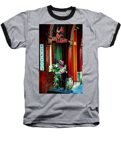 Baseball T-Shirt featuring the photograph Le Potier Rouen France by Tom Prendergast