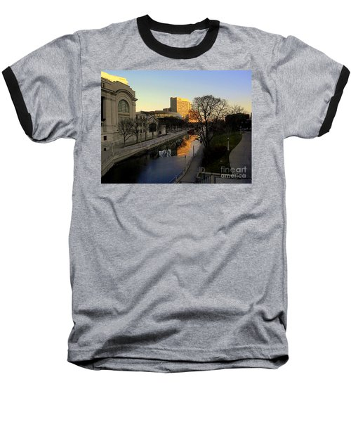 Baseball T-Shirt featuring the photograph Le Rideau, by Elfriede Fulda