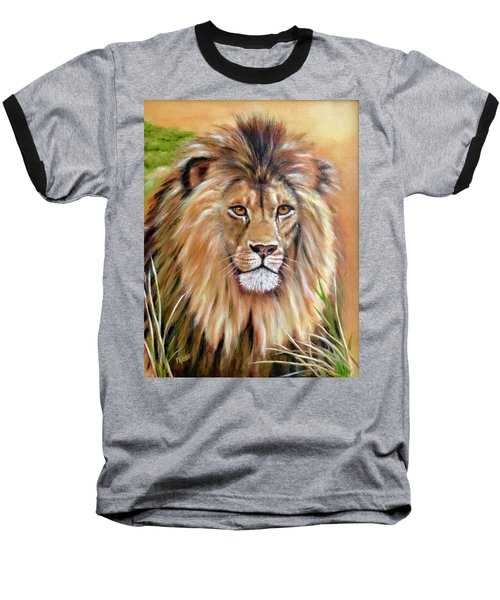 Le Roi-the King, Tribute To Cecil The Lion   Baseball T-Shirt