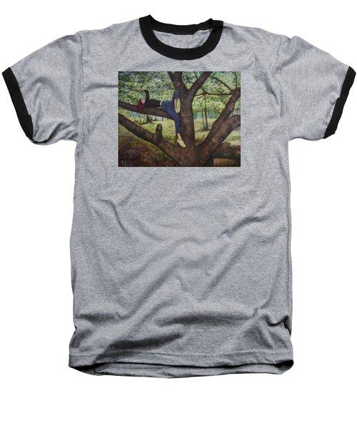 Lea Henry And The Henry Tree Baseball T-Shirt by Ron Richard Baviello